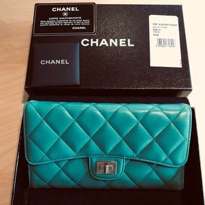 Chanel Quilted Wallet Purse